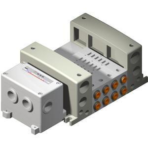 VV5QC41-SDV, Mehrfachanschlussplatte (für EX126)