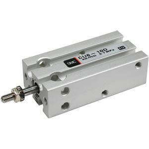 C(D)U, cilindro a montaggio universale, doppio effetto