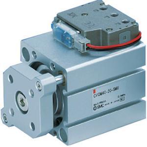 CVQM, Kompaktzylinder mit Elektromagnetventil / mit Führungsstange