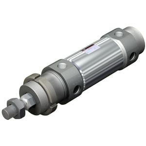 C(D)76K, Air Cylinder, Non-rotating, Double Acting, Single Rod
