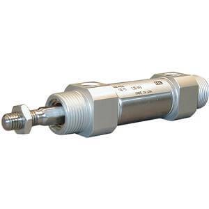 C(D)M2K-Z, Druckluftzylinder, verdrehgesichert, doppeltwirkend, Standardkolbenstange
