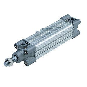 CP96S(D)-XC11, ISO-Zylinder (ISO 15552), Mehrstellungszylinder / Kolbenstange einseitig
