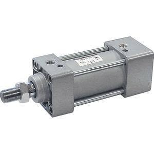 M(D)BK-Z, Air Cylinder, Non-rotating, Single Rod
