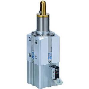 C(L)KQP*50, Zentrier- und Klemmzylinder, Eingebauter Stark-Magnetring