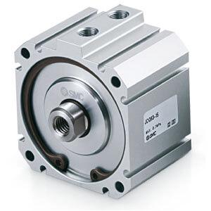 JC(D)Q, Kompaktzylinder, doppeltwirkend, einseitige Kolbenstange