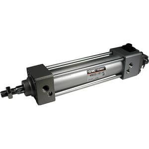 M(D)BB, Air Cylinder, Double Acting, Single Rod, End Lock