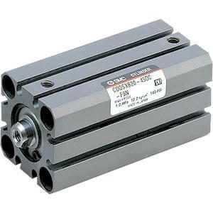 10/11-C(D)QSX, Langsamlauf Kompaktzylinder, doppelt wirkend, Standard-Kolbenstange, Reinraumserie