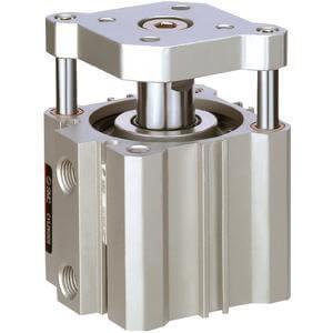C(D)QM, Kompaktzylinder mit Führungsstange