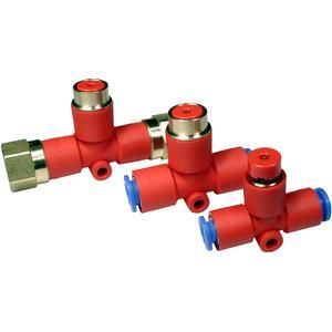 KE, Restdruckentlüftungsventil mit Steckverbindung