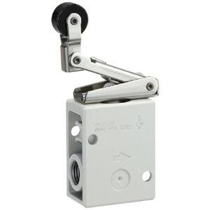 VM200, řada 200, Mechanicky / ručně ovládaný 2/2 a 3/2 ventil