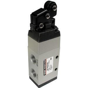 VFM300, Mechanisches 5/2-Wege-Ventil, weichdichtender Schieber, metrisch