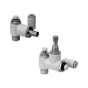 ASR*30/ASQ*30, Drucklufteinsparungsventil, einschraubbar mit Steckverbindung, Universalausführung