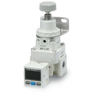 IR1000-A až 3000-A, Přesný regulátor tlaku