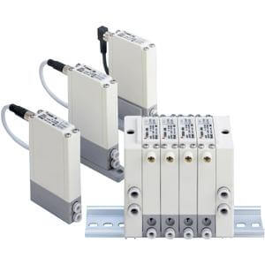 IITV, Mehrfachanschlussplatte für elektropneumatische Kompakt-Regler