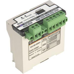 EX120/121/122, Systém sériového přenosu dat, digitální výstupní jednotka