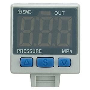 ISE35, Digitální snímač tlaku, provedení vestavěné do regulátoru tlaku
