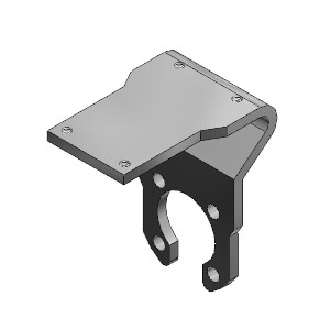 CLK2, Zubehör, Montageplatte Endschalter