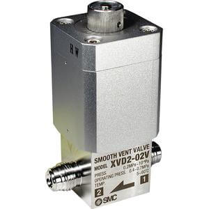 XVD2, High Vacuum Valve, Smooth Vent