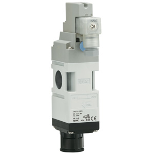 VP517/717, 3/2 elektromagnetický ventil, odvzdušnění zbytkového tlaku, pro modulární jednotky úpravy vzduchu