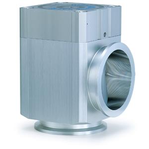 XLA100/160-X152, Aluminium High Vacuum Angle Valve, Normally Closed, Bellows Seal