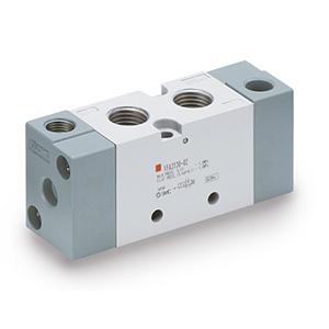 VFA3**0, Vzduchem ovládaný 5/2 a 5/3 ventil, všechna provedení