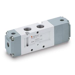 VFA5000, Pneumatisch betätigtes 5/2-, 5/3-Wege-Ventil, alle Bauarten