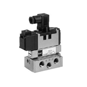 VS7-6, ISO Interface Magnetventil/Größe 1/Stahlschieber