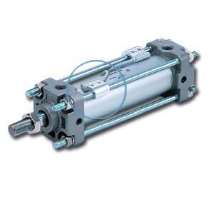 BA4, Zugstangenmontage (für Kolben-Ø 40, 50, 63, 80, 100 mm)