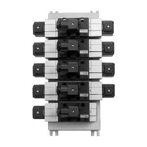 VV71, Vícenásobná připojovací deska, pro ventily řady VP7-6