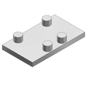 AXT502-9A, Blindplatteneinheit für V(P/S/Q)7-6