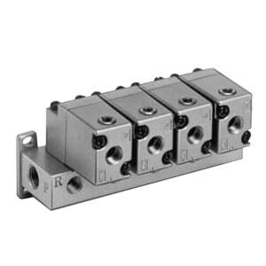 VVTA300, Druckluftbetriebene Mehrfachanschlussplatte