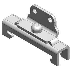 AS-xxD, Držák pro montáž na DIN lištu, pro AS1002F/4002F