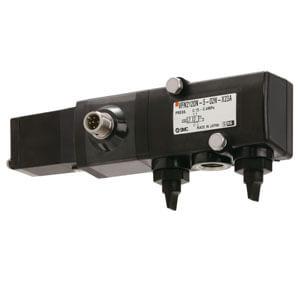 VFN2120N-X23/36, 3/2-, 5/2-Wege-Elektromagnetventil mit NAMUR-Schnittstelle, für hygienische Anwendungen