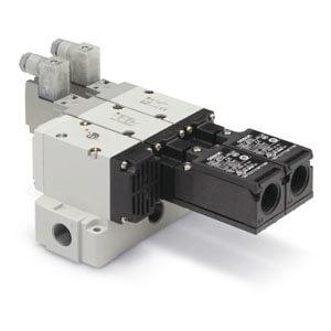 VP544/744-X555/585, Redundant aufgebautes Sicherheitsentlüftungsventil mit Softstart-Funktion, ISO13849-1