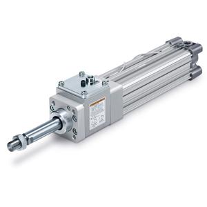 CP96N(D), ISO-Zylinder 15552, doppeltwirkend, einseitige / durchgehende Kolbenstange mit Verriegelung