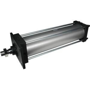 C(D)S1, cilindro pneumatico, doppio effetto, stelo semplice, tipo con lubrificazione