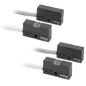 E73A/E80A-588, Jazýčkový snímač polohy, přímá montáž, vodiče, ATEX Kategorie 3