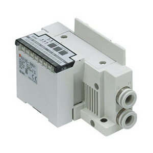 SS5Y7-10S3, 7000 Series Manifold for Series EX120 Integrated (Output) Serial Transmission System (IP20), Side Ported