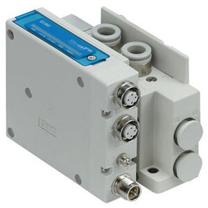 SS5Y3-12SN, 3000 Series Manifold for Series EX260 Integrated Type (For Output) Serial Transmission System (IP67), Top Ported