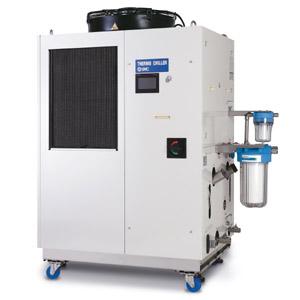 HRL, Termorrefrigerador de doble canal para láseres
