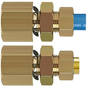 KFE, Klemmverbindungen, Schott-Steckverbindung mit Gewinde
