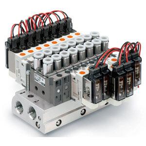 SS0752, Plug-in, Manifold Bar Base, Individual Wiring , C Kit