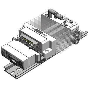 SS5J3-60S6B, Vícenásobná připojovací deska - interní prodrátování (pro EX510)