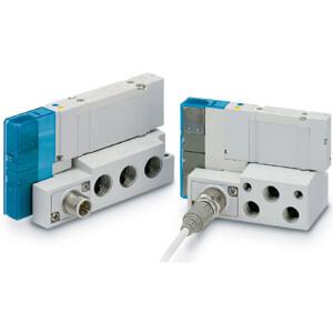 SY3000, Interne Verdrahtung Einzelanschlussplatte