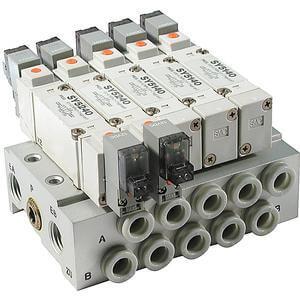 SS5X5, Serie 5000 Stabförmige Mehrfachanschlussplatte, individuelle Verdrahtung