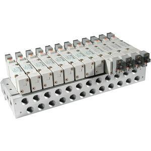 SS5X7, 7000 Series, Bar Manifold, Individual Wiring