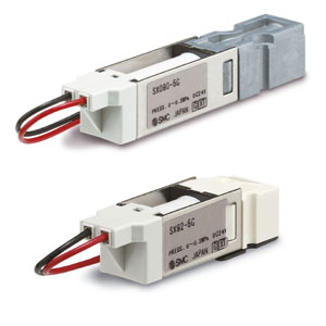 SX90/090, Low Profile 2/3-Port Solenoid Valve
