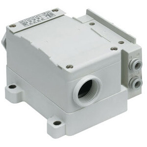 SS5Y7-10T, 7000 Series Manifold, Terminal Block Box (IP67), Side Ported