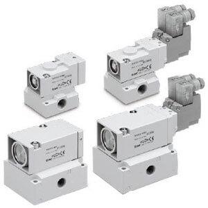 VEX3, Proporcionální 3/3 ventil, montáž na základovou desku