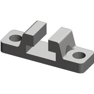 CLQ, Příslušenství, čep a upevňovací držáky (typ A a B)